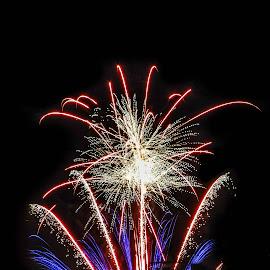 by Bojan Dobrovodski - Abstract Fire & Fireworks