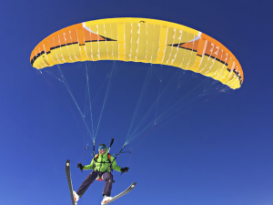 Want to fly the new Niviuk Link Paramotor wing