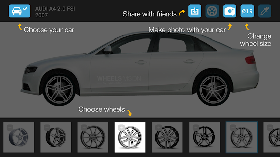 Wheel Visualizer WheelsVision Android Apps on Google Play
