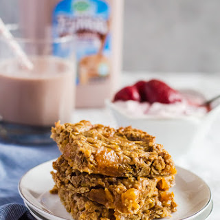 Apricot Almond Butter Oat Bars.