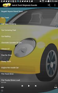 Auto & Truck Ringtones Sounds screenshot 9