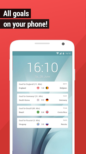 World Cup App 2018 - Live Scores & Fixtures for PC