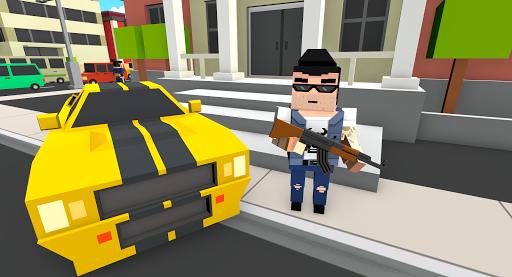 Télécharger Gratuit Pixel Gangster && Mafia Block City Dude Theft Car mod apk screenshots 3