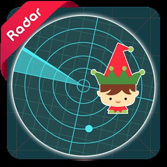 Elf on The Shelf Tracker Radar Simulator