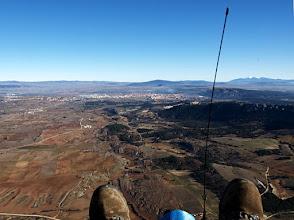 Photo: Soria a la vista y el Moncayo al fondo a la derecha