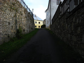 Photo: W stronę centrum, najstarszej części miejscowości.