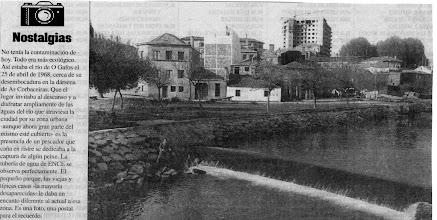Photo: Tubería de Ence no Río Gafos