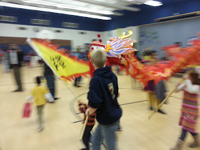 Photo: Dragon dance