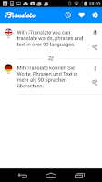 Screenshot of iTranslate - free translator