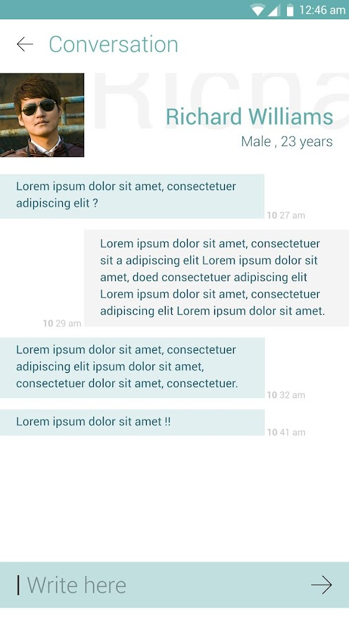 ChatsIn - Free Chat- screenshot