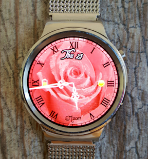 Tea Rose Watch Face - náhled