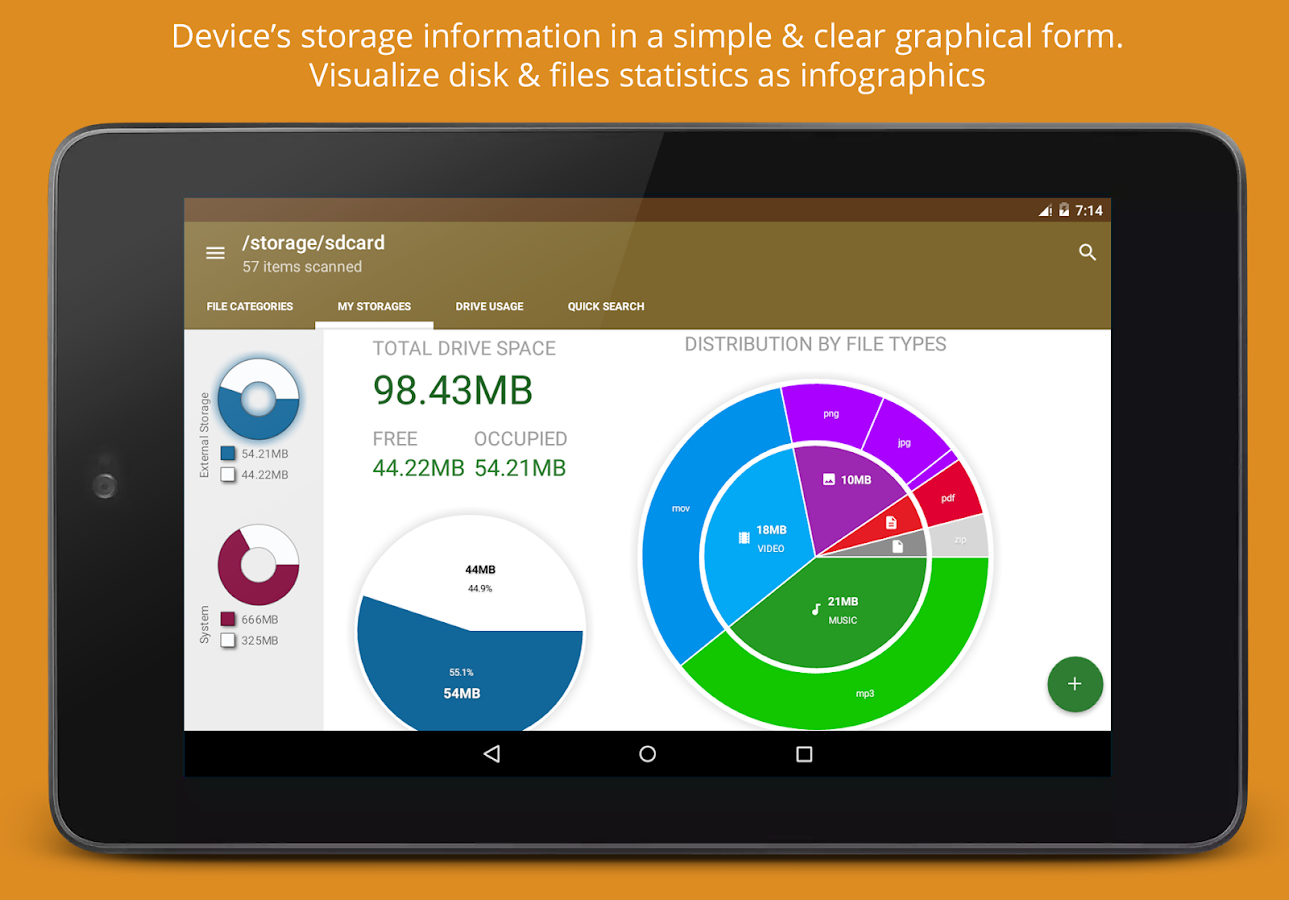 Disk Amp Storage Analyzer Pro Android Apps On Google Play