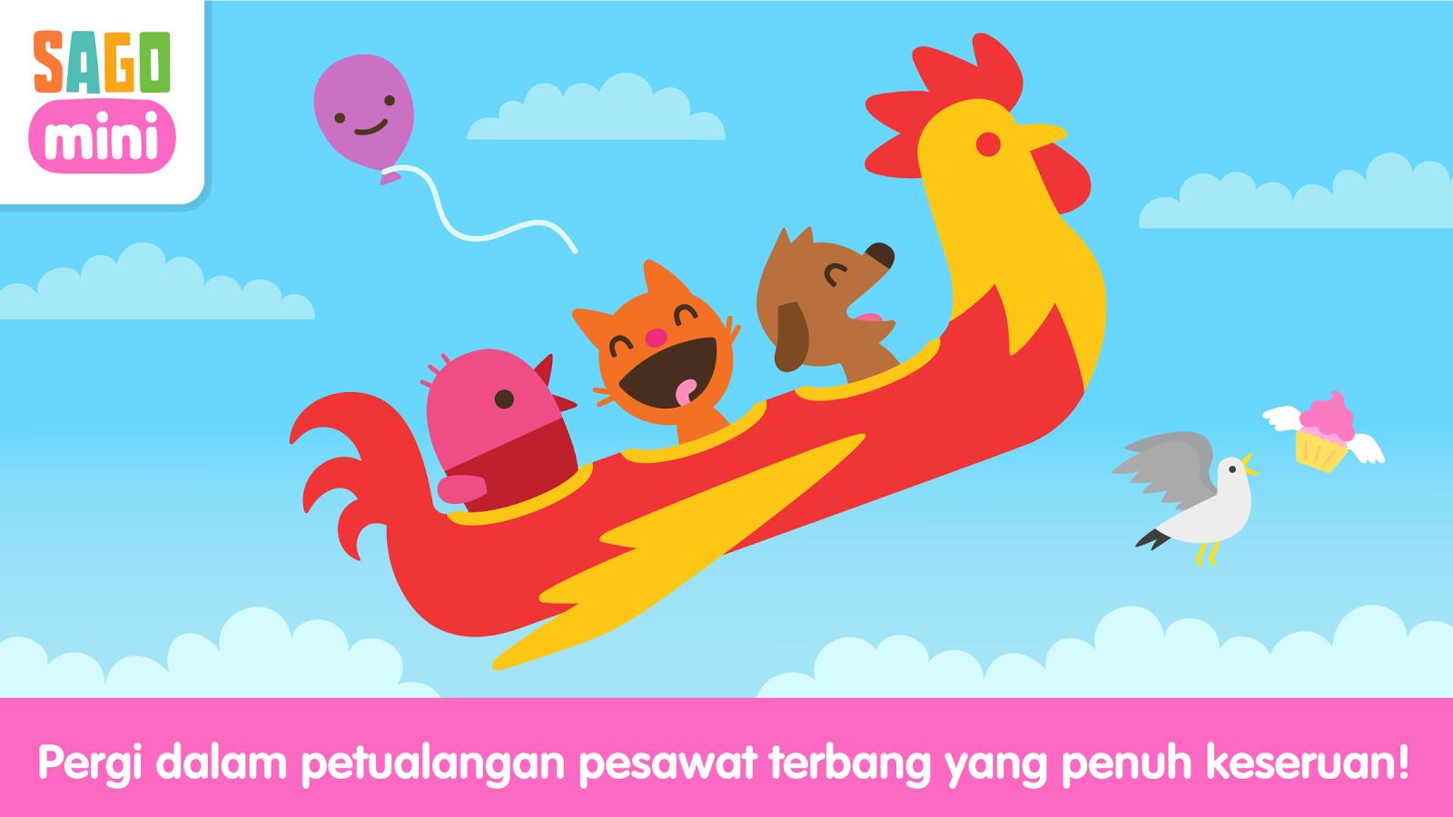 Pesawat Terbang Sago Mini Apl Android Di Google Play