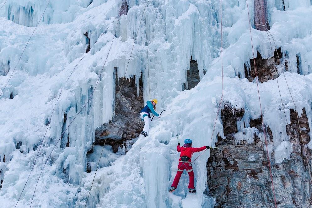 ijsklimmen
