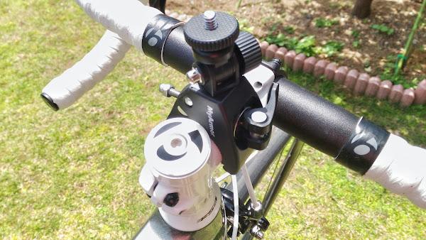 アクションカム 自転車