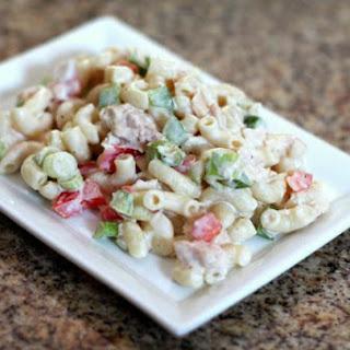 Classic Tuna Macaroni Salad