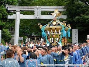Photo: 【平成23年(2011) 本宮】  亀ヶ池八幡宮宮出し。氏子回りを開始する。