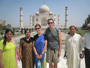 Photo: A random group of Indians started laughing at us and wanted a picture- nice.