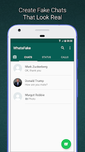 Fake Chat for WhatsApp Screenshot