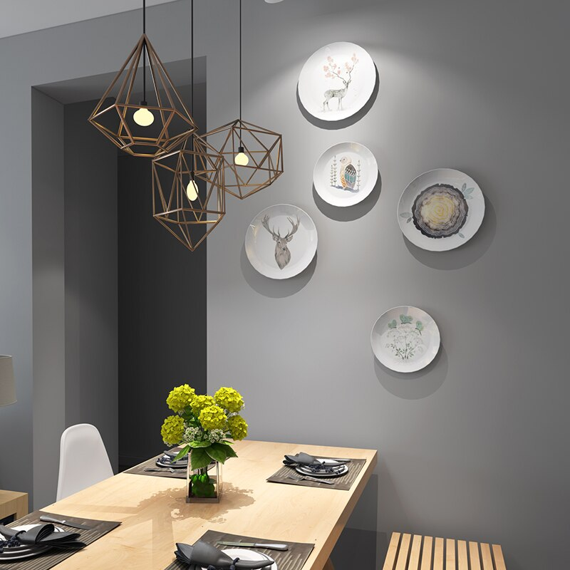 Hanging Plates on Dining Room Wall To Inspire