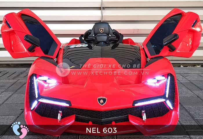 xe ô tô điện trẻ em Lamborghini NEL-603 12