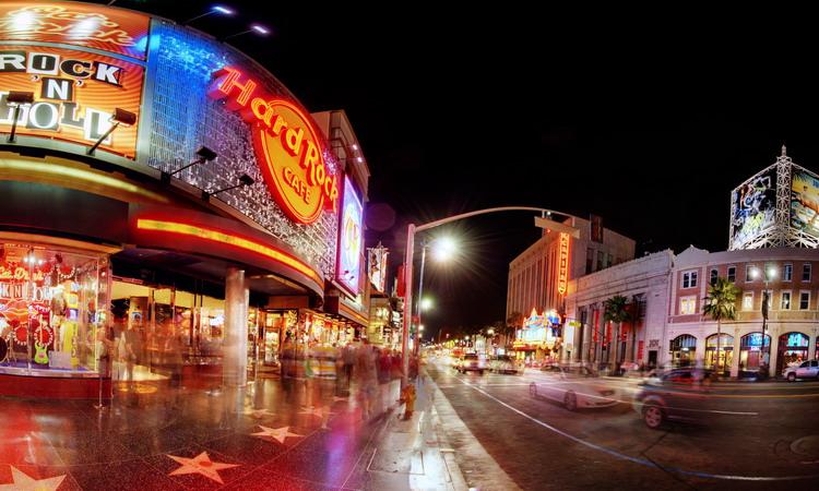 Photo: Hard Rock Cafe Hollywood Blvd.