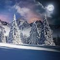 Christmas Snowfall Live Wallpaper FREE icon