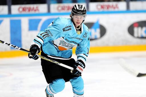 Jonne Jantusen ensimmäinen tavoite on vakiinnuttaa paikka Pelicansin Liiga-miehistössä. (Kuva: Tomi Natri)