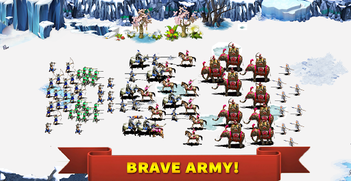 StickMan Defense War - Empire Hero & Tower Defense apktram screenshots 2