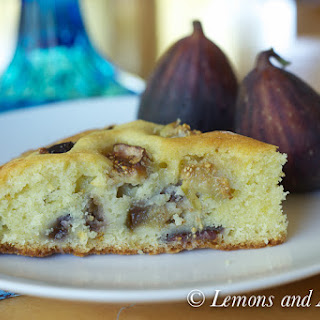 Fresh Fig Cake Recipe