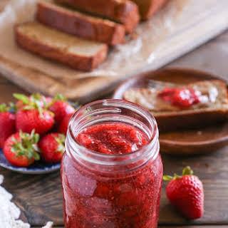 Strawberry Chia Seed Jam.