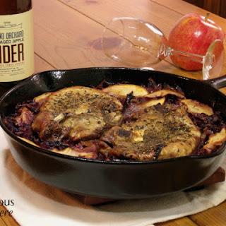 Apple Cider Pork with Red Cabbage and Oak Aged Apple Cider Recipe