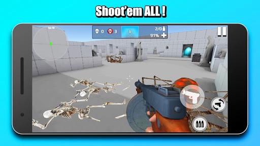 Mr Skeleton: Gun Shooting 2.9 screenshots 6