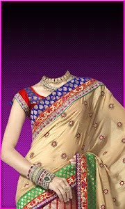 Pattu Saree Photo Suit screenshot 3