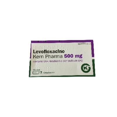 levofloxacina levofloxacino 500mg 7comprimidos kern pharma
