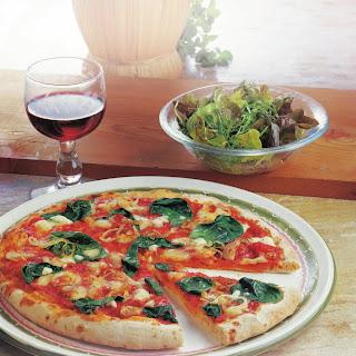 Pizza Spinaci e Mozzarella