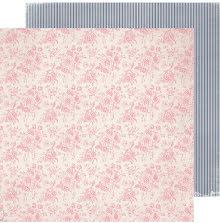 Heidi Swapp Hawthorne Double-Sided Cardstock 12X12 - Sugarhouse UTGÅENDE