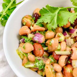 Heart Healthy Mixed Bean Salad Recipe