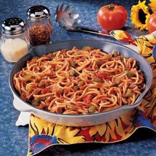 Spaghetti Skillet
