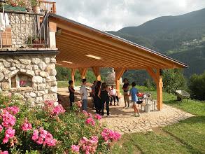 Photo: casa La Fonte con tettoia fotovoltaico