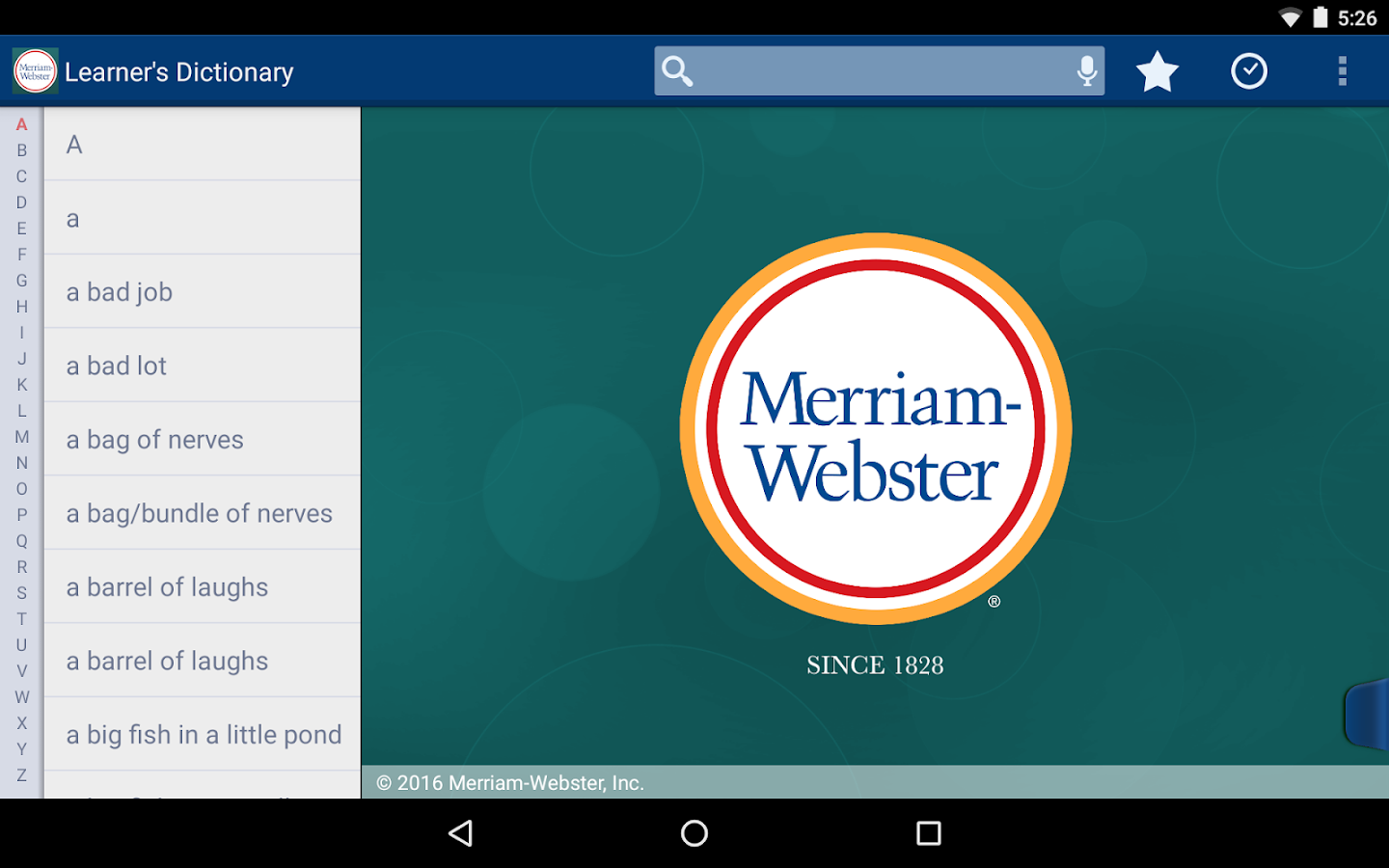 learner s dictionary english android apps on google play learner s dictionary english screenshot
