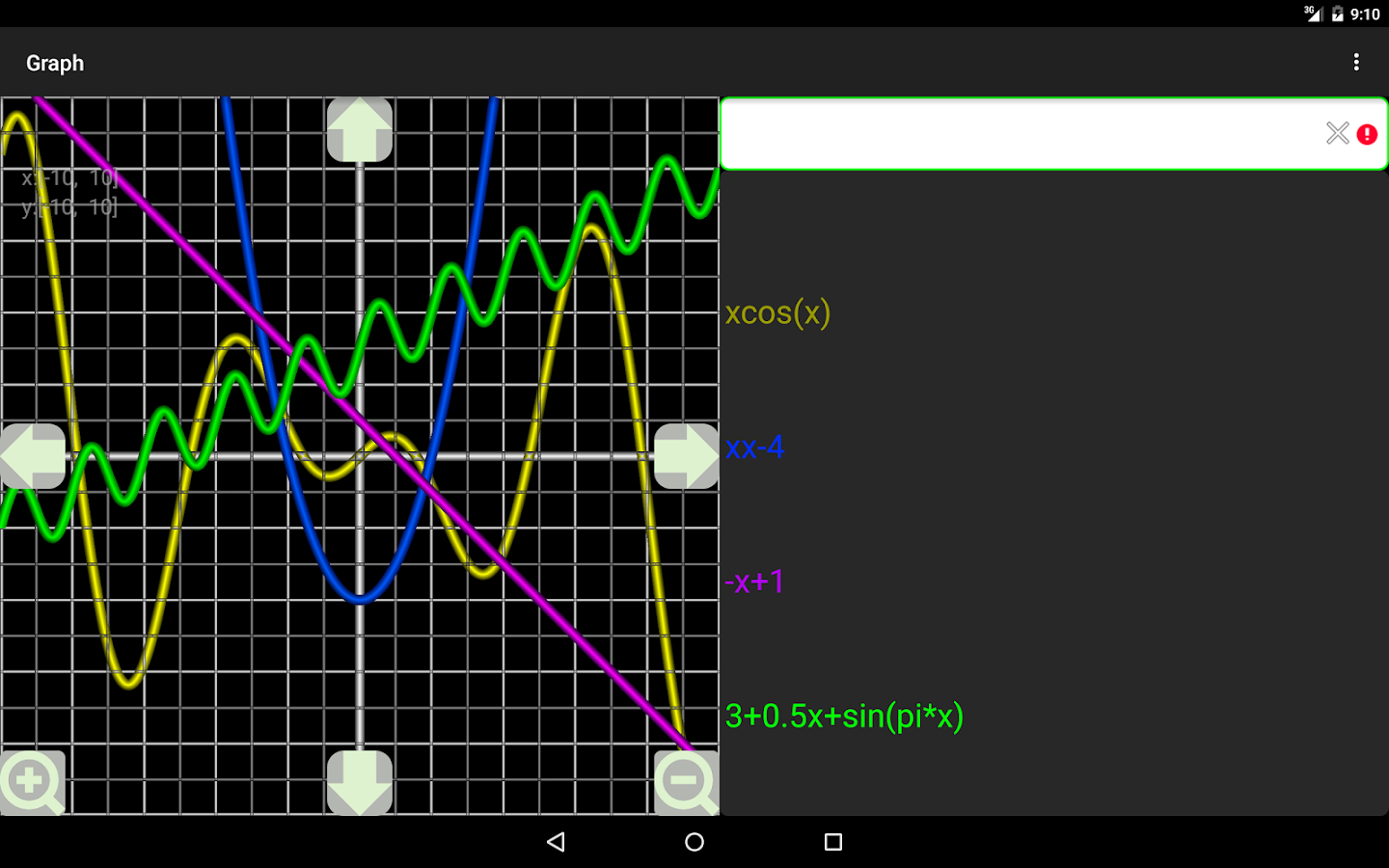 Graph Lite- screenshot