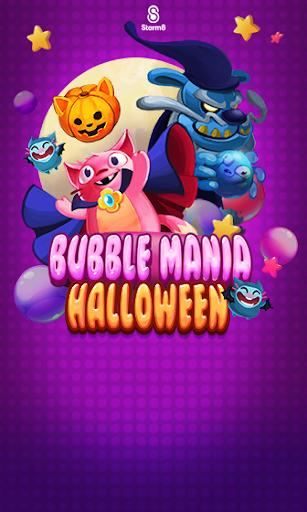玩免費休閒APP|下載Bubble Mania: Halloween app不用錢|硬是要APP