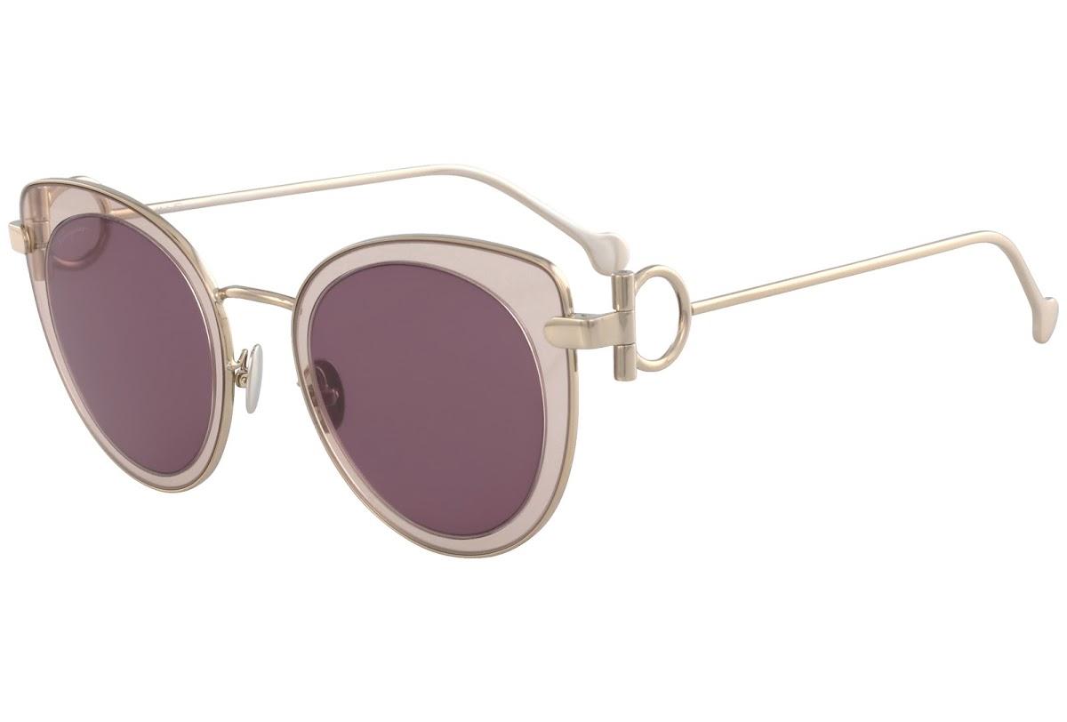 e7c71e1b3ac Buy Salvatore Ferragamo SF182S C50 640 WINE PEACH Sunglasses
