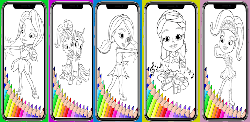 Download Rainbow Rangers Coloring Book Apk For Android Latest Version