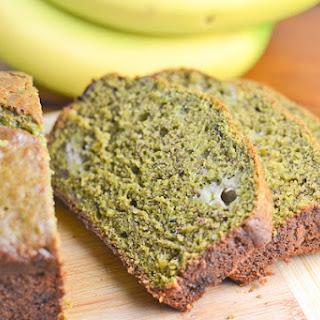 Green Tea Banana Bread.