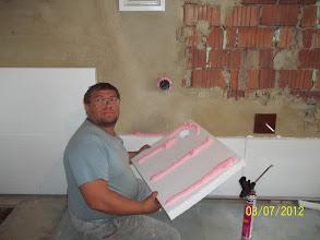 Photo: lepíme růžovou