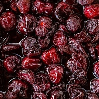 Slow-Roasted Cherries with Brandy & Balsamic Vinegar