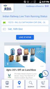 live railway india - náhled