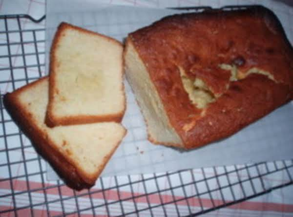 Honey Vanilla Pound Cake Recipe